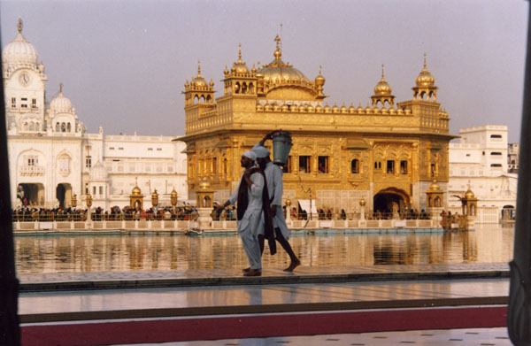 Amristar, golden temple