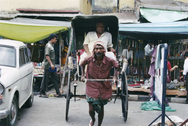 Human horse of Calcutta