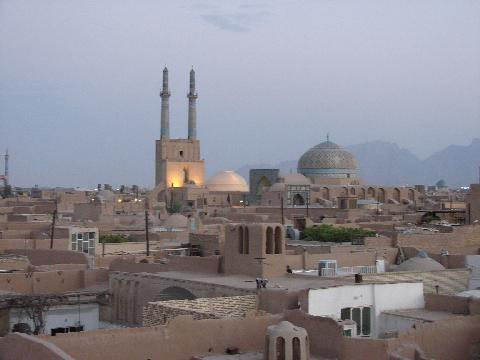 Yazd from the roofs